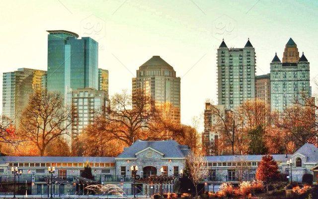 Atlanta in Autumn