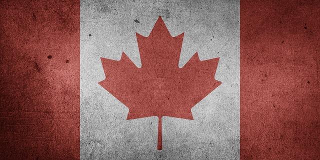 Canada flag.