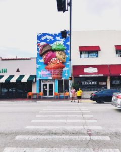 Street view while moving to little havana