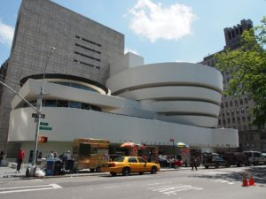 Guggenheim Museum in Upper East Side - one of the best neighborhoods in NYC