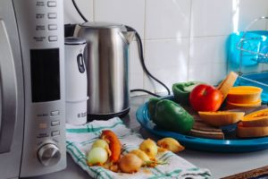 Before you pack your kitchen for moving, clean small kitchen appliances