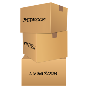 Moving boxes - Packing for moving across the country