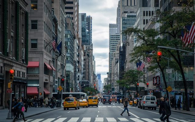 a street in NYC