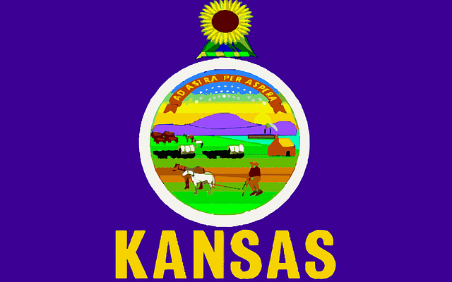 Kansas map for Moving to Kansas for the first time