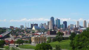 A view of Kansas City