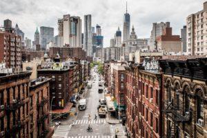 Manhattan city view