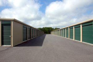 Outdoor storage unit.