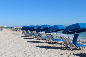 A Miami beach.