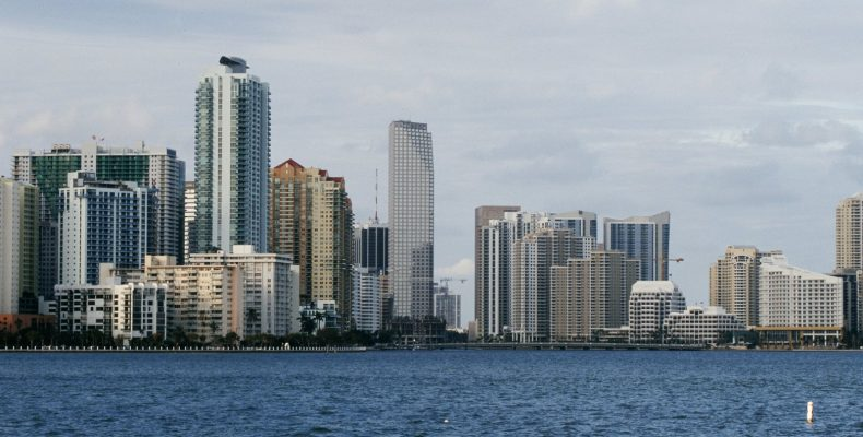 Enjoy the Miami skyline everyday by finding work in Miami today.
