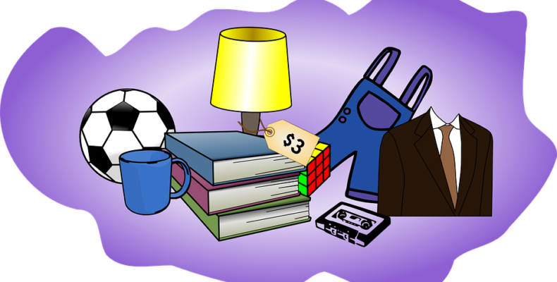 What are the tips for organizing a successful pre-move garage sale?