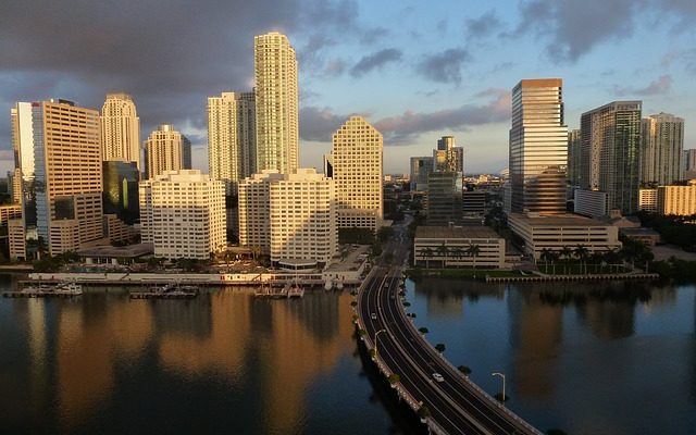 A view of Miami, the city that offers many benefits if you choose it when considering Miami Dade vs. Broward County