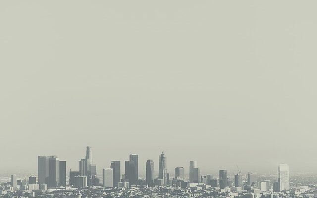 LA city view.