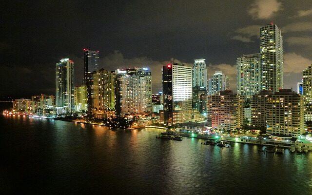 Miami in Florida.