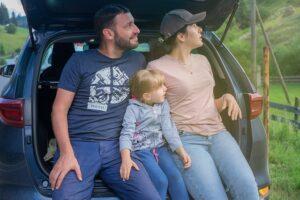 Family, car travel.