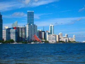 Downtown Miami view.