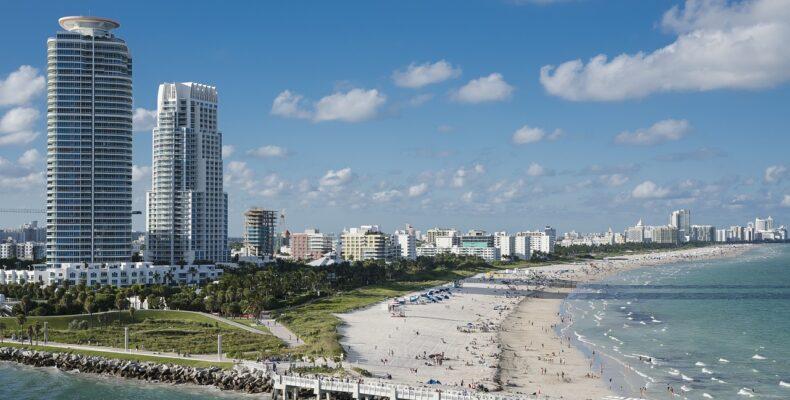 The view of Miami.