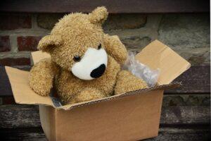 Unpacked box.